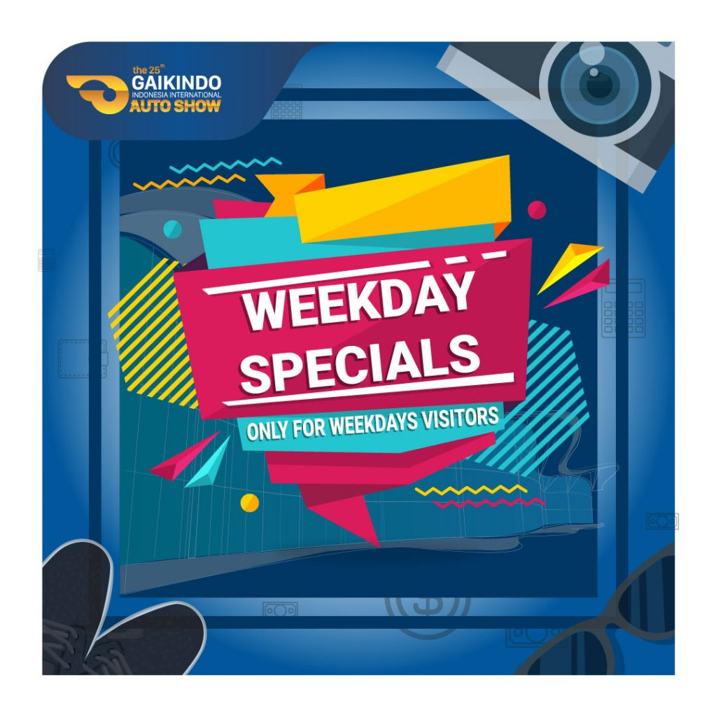 GIIAS Weekday Specials