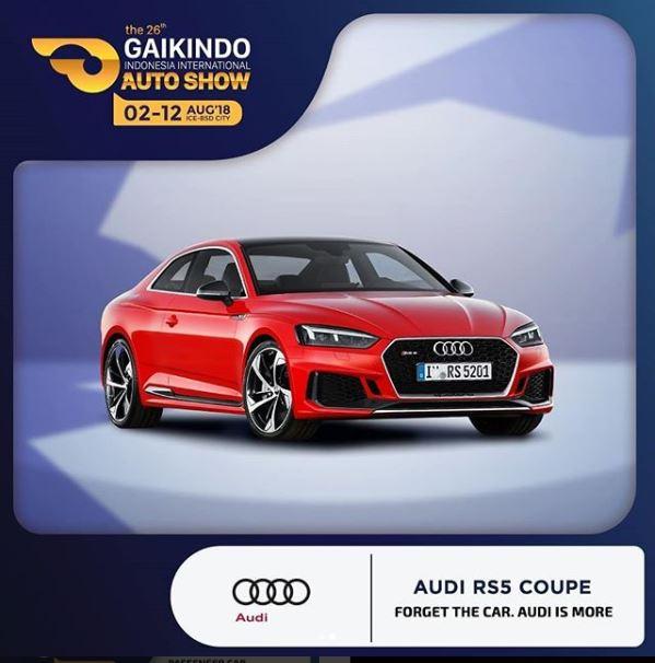 GIIAS - Audi RS5