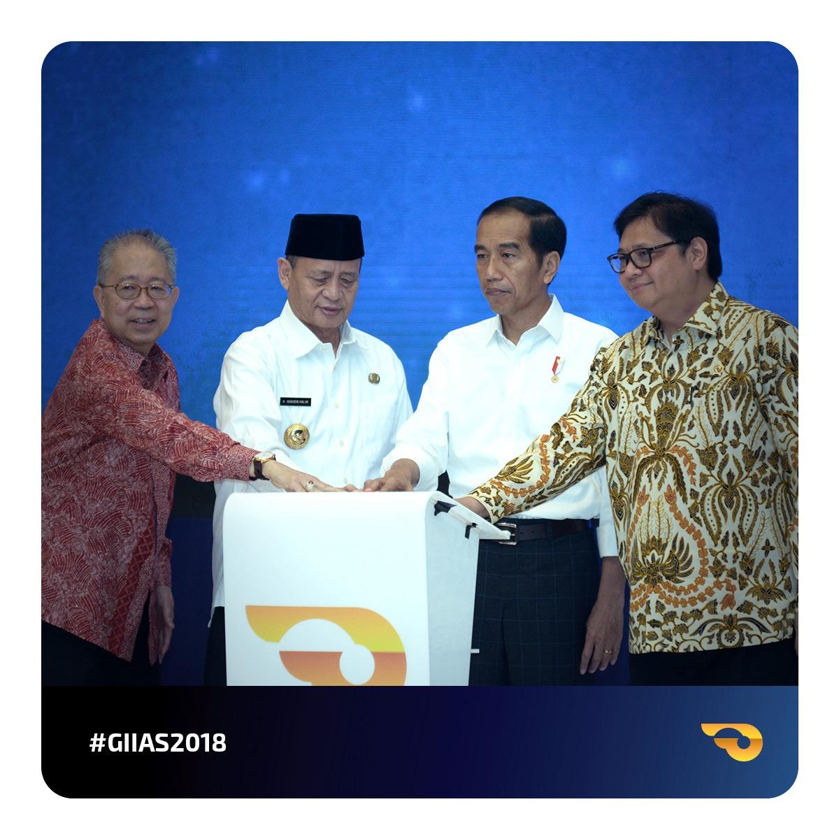 GAIKINDO Indonesia International Auto Show (GIIAS) 2018 Resmi Dibuka dengan Peluncuran Alat Mekanik Multiguna Pedesaan (AMMDes)serta Deklarasi Euro 4