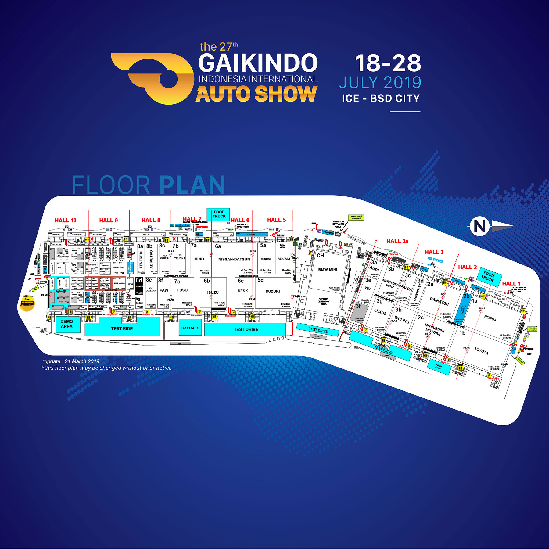 GIIAS 2019 - Floorplan