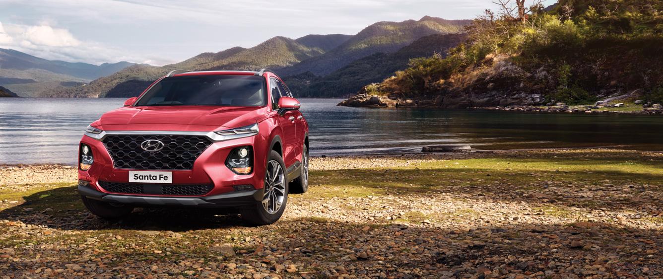 Wajah Baru Hyundai Santa Fe