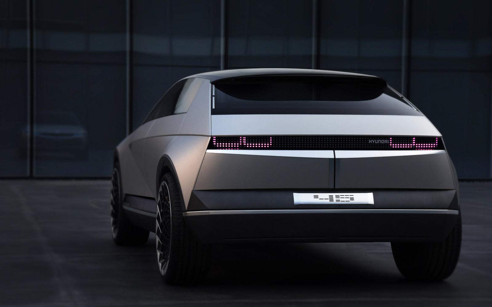 Ini Tampilan Mobil Konsep Tenaga Listrik Terbaru Hyundai 45