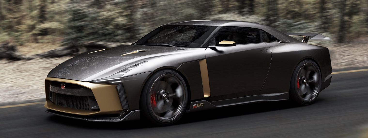 Nissan GT-R50, Eksklusif Hanya Ada 50 Unit Di Dunia