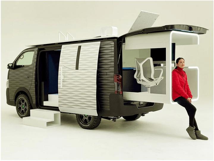 Mobil Konsep Nissan, Dapat Membuat Penggunanya Bekerja Dimana Saja