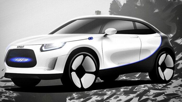 Mercedes-Benz Berkolaborasi Dengan Geely, Ciptakan SUV Smart