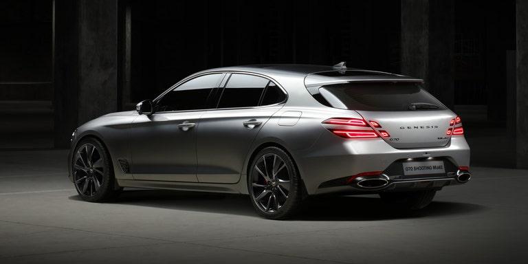 Hyundai Hadirkan Genesis G70 Shooting Brake Khusus Pasar Eropa