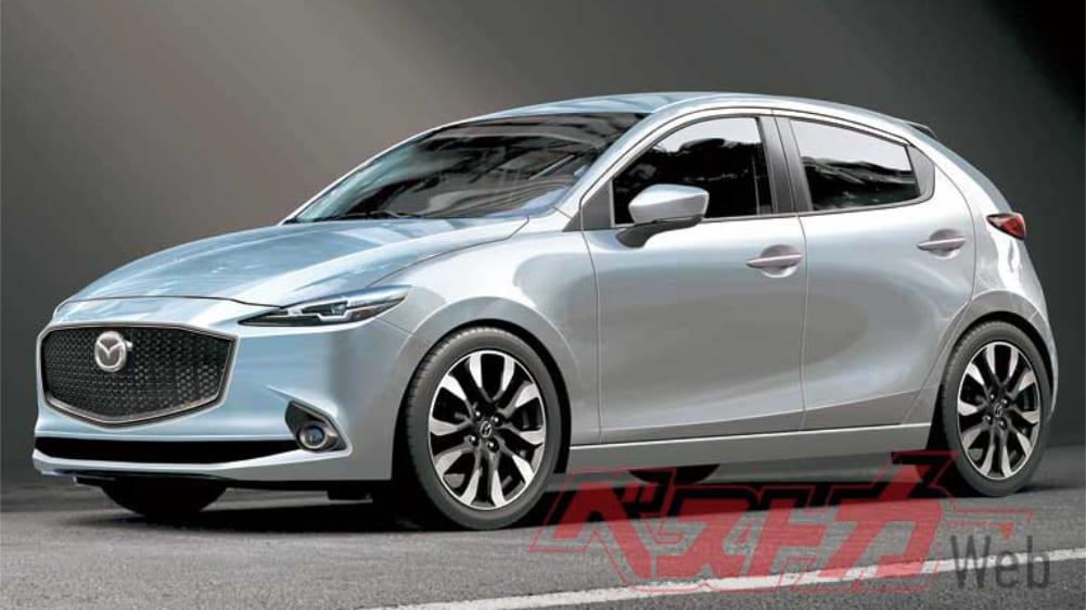 Mazda2 Generasi Terbaru Siap Meluncur pada 2022?