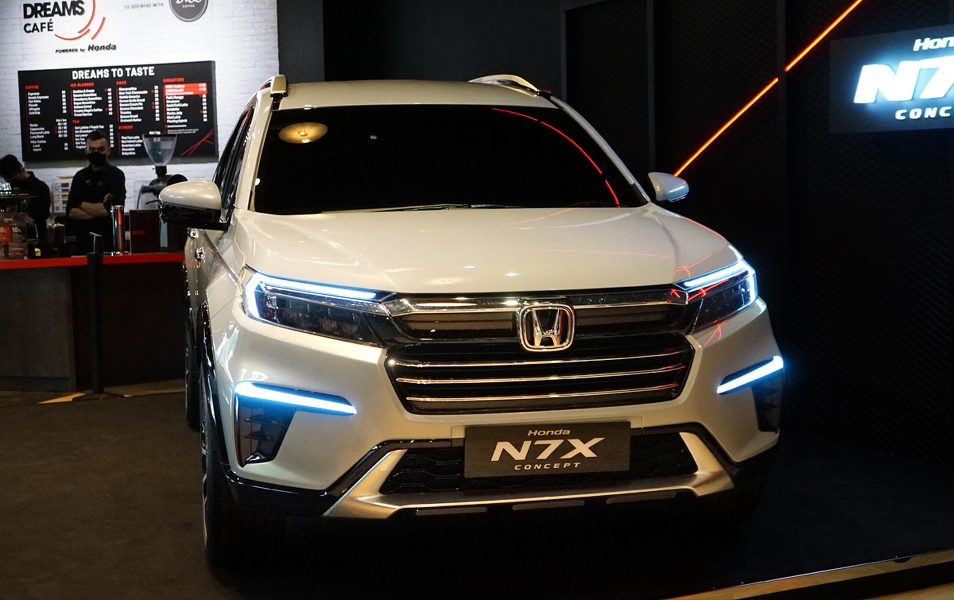 Begini Tampilan Honda N7X Concept Yang Mulai Dipamerkan